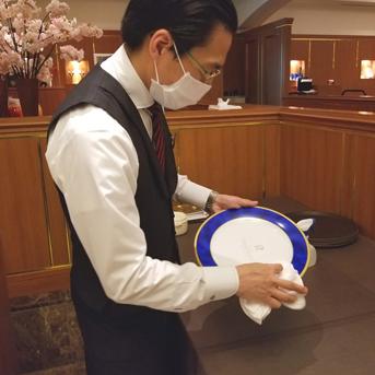 コロナ対策 消毒 3密回避 フレンチ 小樽 北海道 札幌 安全 安心